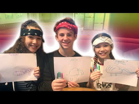 Thumbnail: Blindfold Drawing Challenge with MattyB!