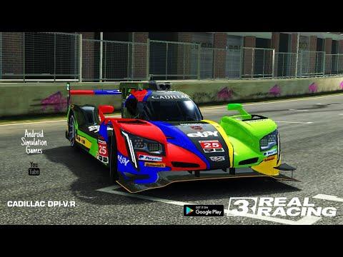 Real Racing 3 (RR3) Video #17. Cadillac DPI-V.R EBAY Android Gameplay