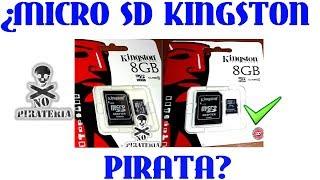 ¿Memorias kingston piratas?
