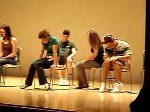 Hypnotist Doug MacCraw at SU 9/06 (1)