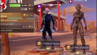*UNRELEASED* GALAXY SKIN AND EMOTES | HE CAN GET *ANY* SKIN | Fortnite Battle Royale
