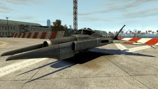 Grand Theft Auto IV - Batman - Batwing (MOD) HD