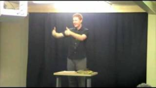 How to draw close to God 1of4 - Auslan Sermon