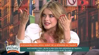 Alexandra Dinu, noul jurat de la Românii au Talent