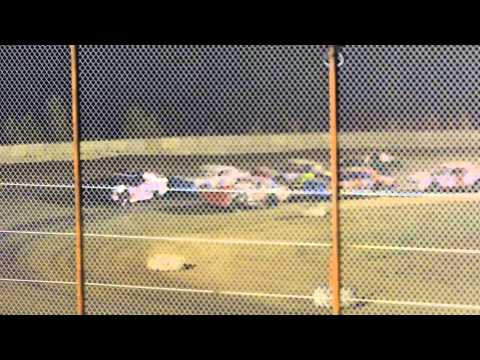 Factory Stock Feature Nevada Speedway 8-30-14