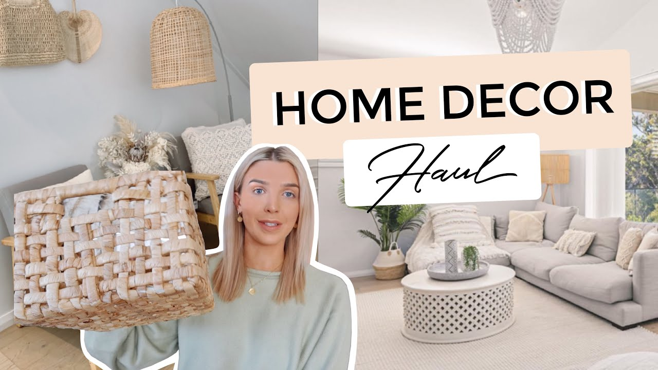 HOME DECOR HAUL! // Storage + Lounge room Refresh!