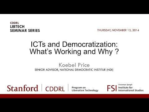 ICTs and Democratization: What Works & Why?