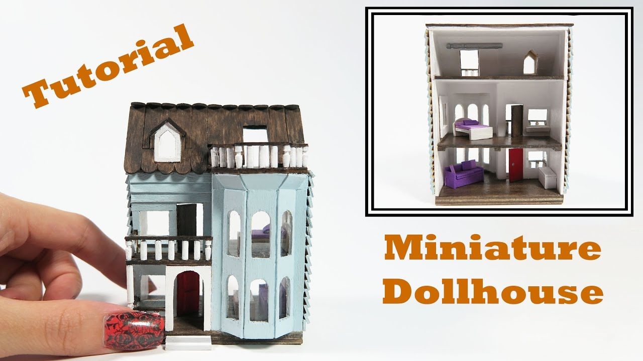 DIY Miniature Dollhouse Tutorial