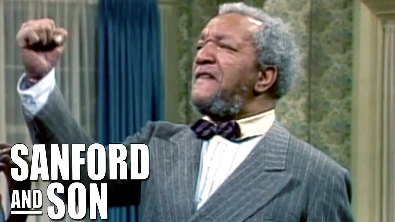 Fred Finds Other Man At Donna's | Sanford and Son