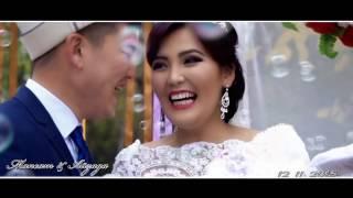 красивая свадьба г ош 2016 Максат &Айзада