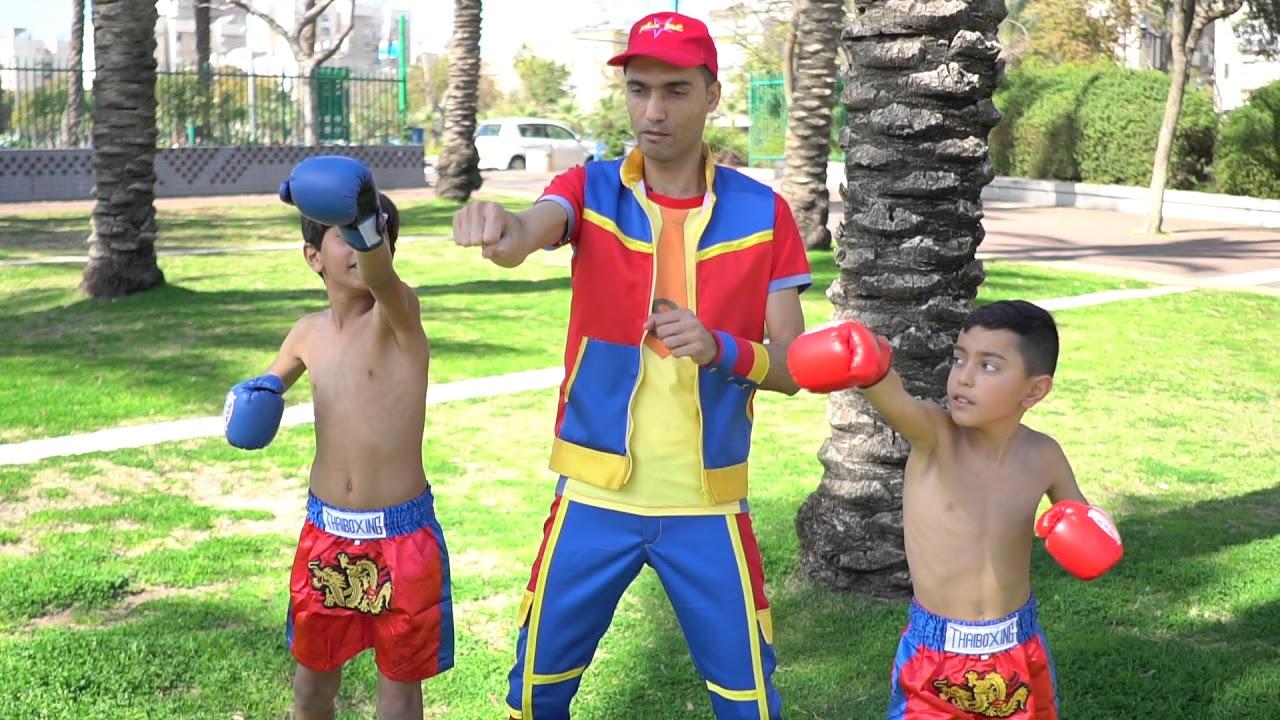 عمو صابر ادم واسماعيل الملاكمين - amo saber the boxers