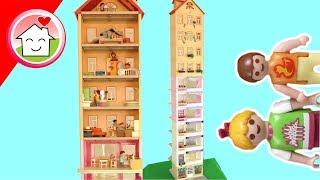 Playmobil Hochhaus bauen mit Familie Hauser - PLAYMOMANIA