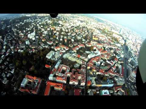 FOX flight over Western Slovakia with GOPRO