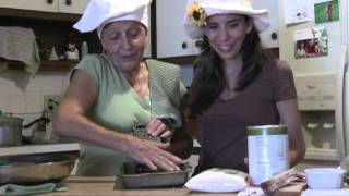 Mama Maria Making Home Made Rice Balls Italian Cooking Episode #2