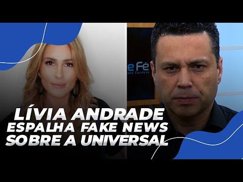 LIVIA ANDRADE ESPALHA FAKE NEWS SOBRE A UNIVERSAL E OUVE O QUE NÃO QUER