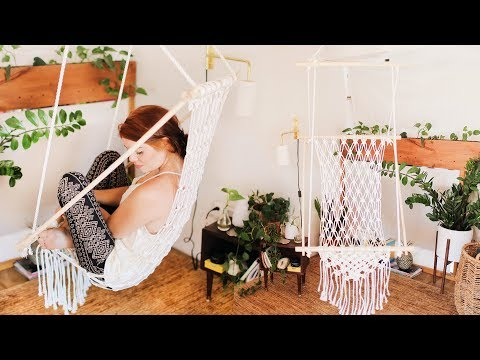 DIY a Gorgeous Boho Macrame Chair thumbnail