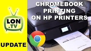 How to Print to HP Printers with Chromebook / Android with Google Cloud Print(Buy it on Amazon - http://lon.tv/hixv1 (affiliate link) - Newer HP printers are compatible with Google Cloud Print. But setting it up is a little tricky. Subscribe for ..., 2016-02-25T03:24:55.000Z)