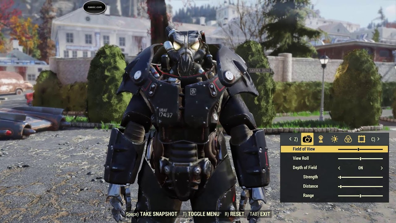 Fallout 76 Enclave X 01 Power Armor Full Set With Blackbird Paint YouTube