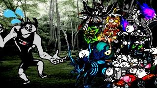 The Battle Cats - Maiden Awakes! Super SpeedRun (Expert & Insane)