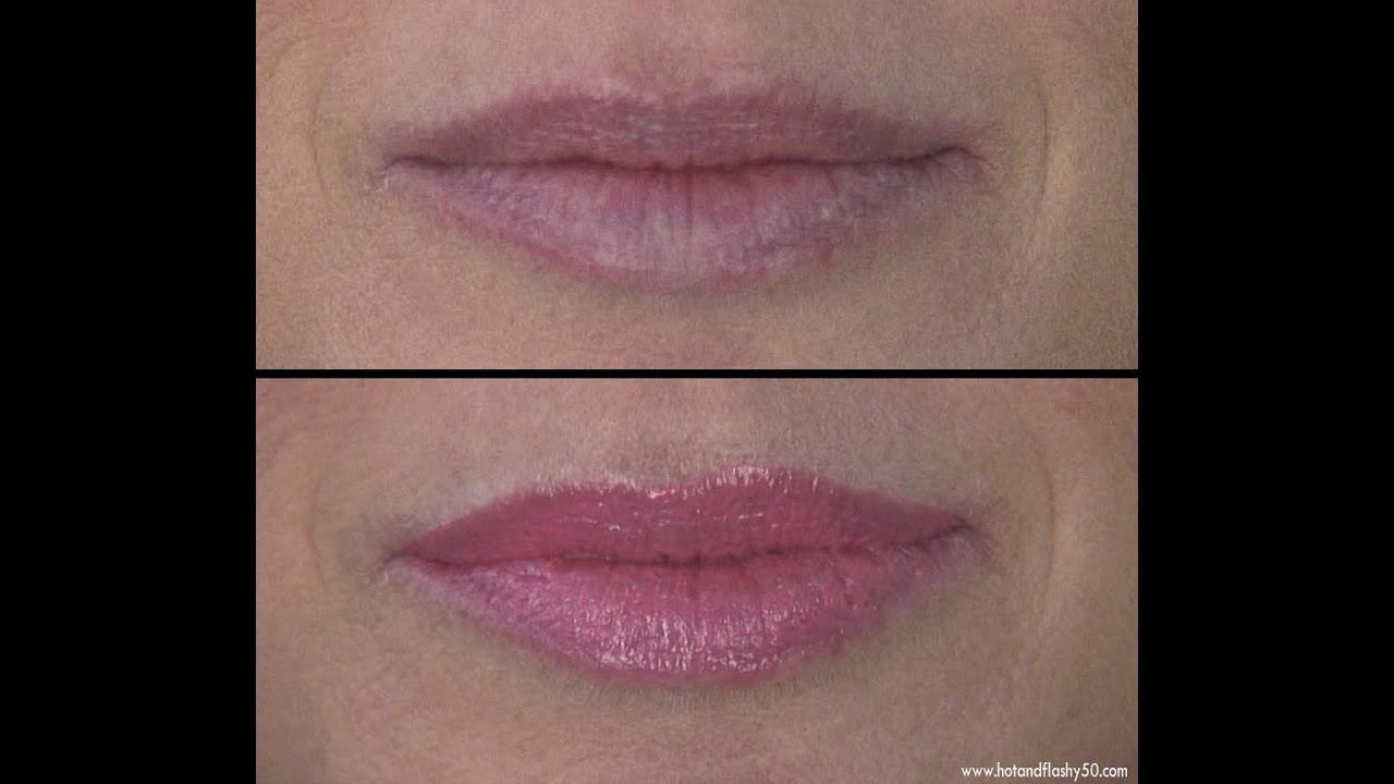 Quick Fix for Lip Wrinkles - YouTube