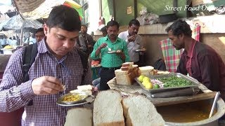 Toast Egg Boil Ghugni Aloo Dam | Lots of Fast Food | Low Price But Tasty Food | Street Food Online