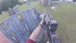 When a soldier tries MagFed Paintball