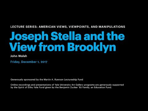 Joseph Stella and the View from Brooklyn