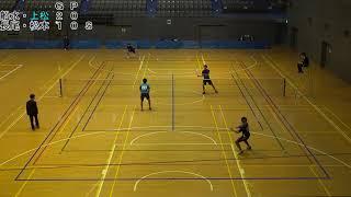 '17 関東学生選抜ソフトテニスインドア大会 男子 準決勝 1