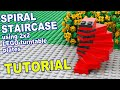 LEGO Spiral Staircase How To Tutorial