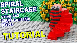 Tutorial - Lego Spiral Staircase [CC]