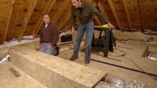 Create Attic Storage Space-diy
