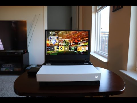 Portable Xbox One X G Story Unboxing And First Impressions Youtube