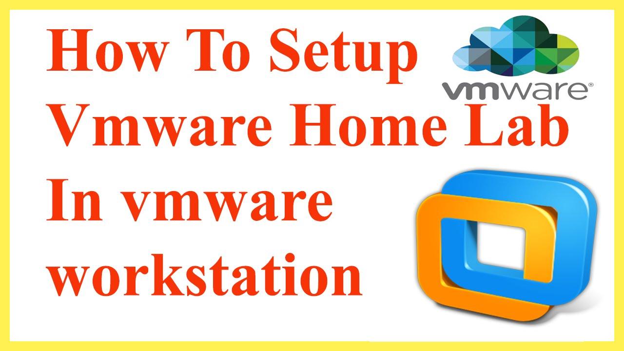 How To Setup Vmware Vsphere Home lab In Vmware Workstation | How To Setup  Vmware Home Lab