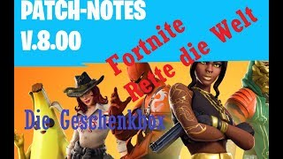 Fortnite La patch 8.00 LA SCATOLA REGALO