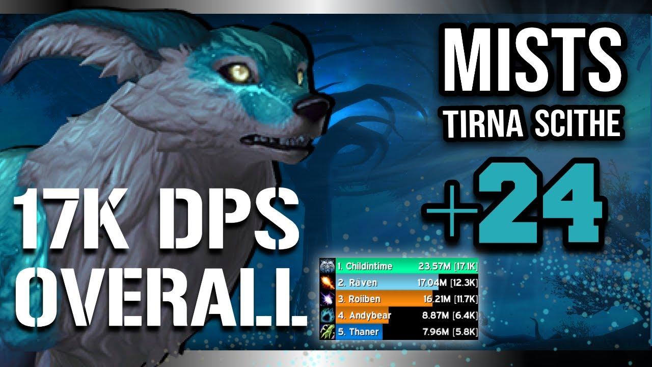 17k OVERALL +24 Mists?!! | Necro Windwalker - Speed