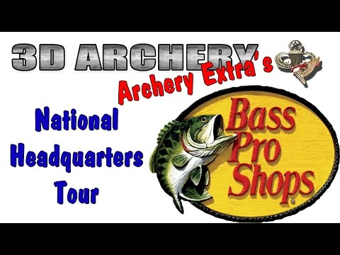 3D Archery - Bass Pro Shop's National Headquarters
