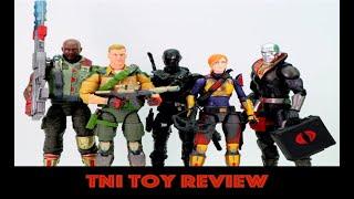 "Hasbro G.I. Joe 6"" Classified Wave 1 Figures Review"