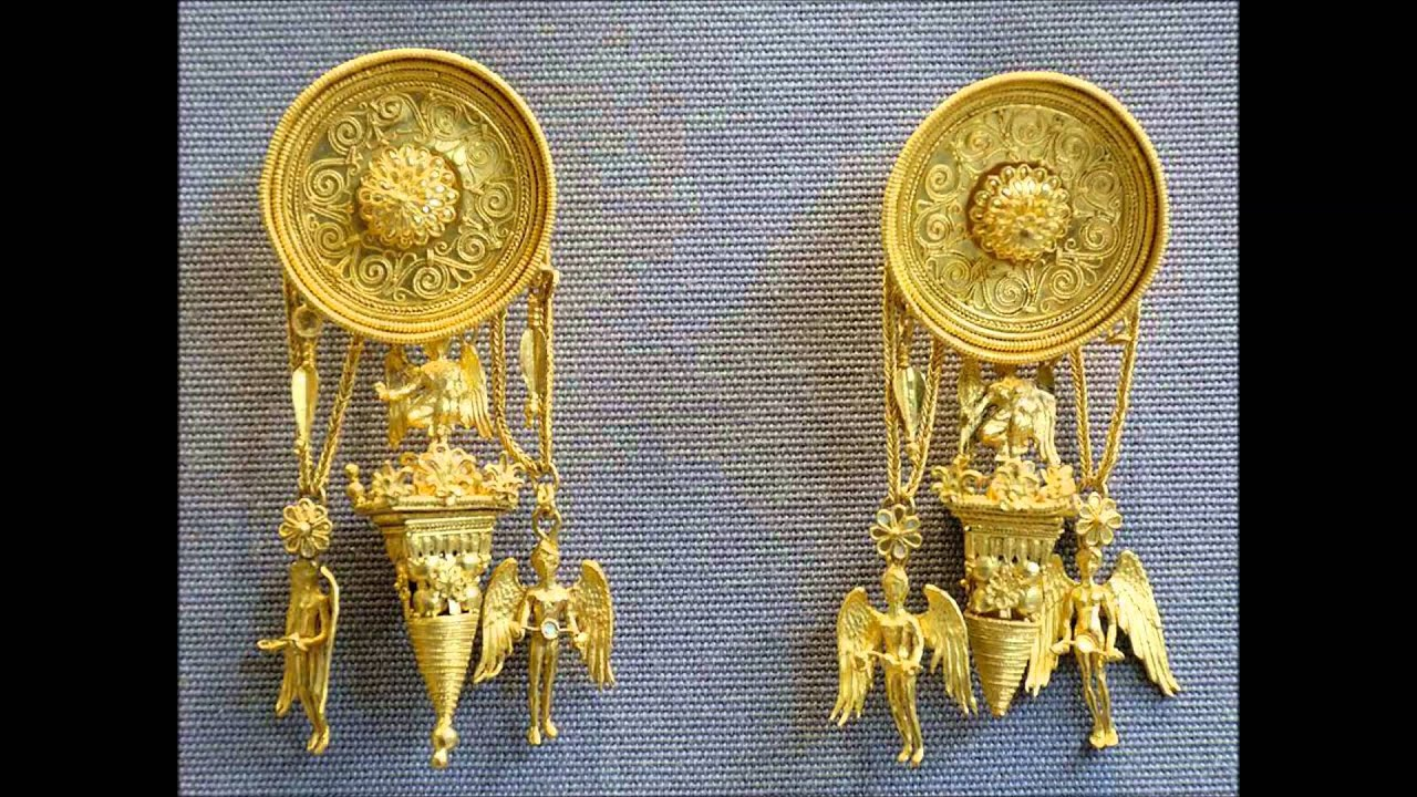 ANCIENT GREEK JEWELLERY - YouTube