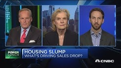 What's driving the home sales drop? Experts weigh in
