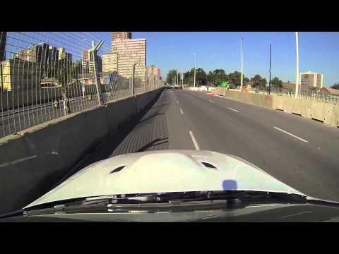 Top Gear Festival Durban - Street Circuit Shakedown