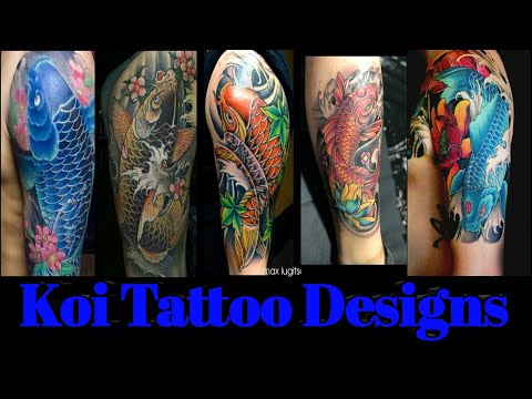Best Tattoo Designs| Koifish Tattoos
