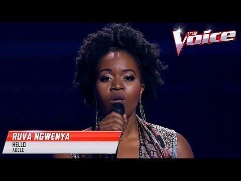 Blind Audition: Ruva Ngwenya - Hello - The Voice Australia 2017
