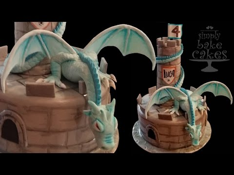 How to make a DRAGON CAKE YouTube