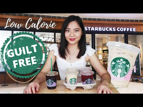 STARBUCKS DRINKS Na GUILT FREE ♥ Low Calorie Low Sugar ♥ Plus Tips Sa Pag Order!