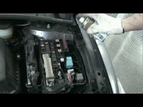 видео: Мойка двигателя, нанопротек.mpg