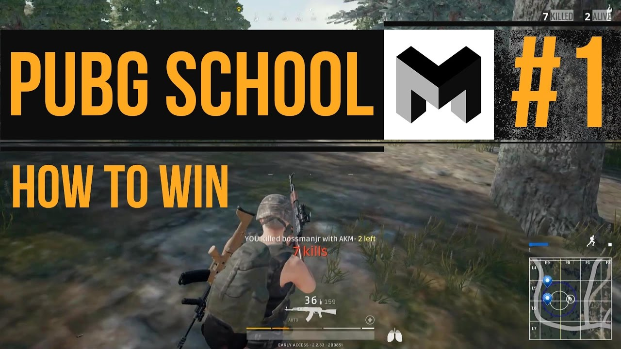 How To Better In Pubg: Mtashed's PUBG School: Episode #1