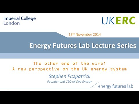 The other end of the wire: A new perspective on the UK energy system