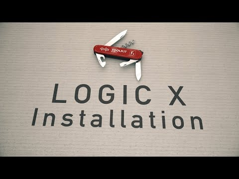 F9 Toolkit - Logic X Installation instructions