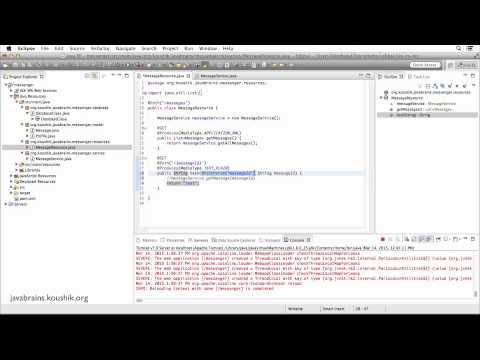 REST Web Services 17 - Accessing Path Params