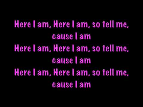 Nicki Minaj - Here i am with lyrics - Pink Friday